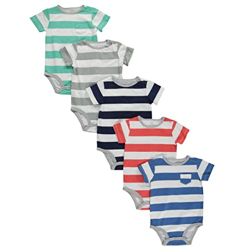 Carters Baby Boys 4 Pack Bodysuits