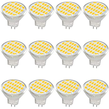 Baoming Mr11 Gu4 Led Lampen 35 W Halogenlampen Aquivalent 12v Dc Ac 3 W 250 Lm 30 Abstrahlwinkel Warmweiss 2700k Led Gluhbirnen Pack Mit 6 Einheiten Amazon De Beleuchtung