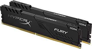 HyperX FURY Black HX424C15FB3K2/8 Arbeitsspeicher 8GB Kit*(2x4GB) 2400MHz DDR4 CL15 DIMM
