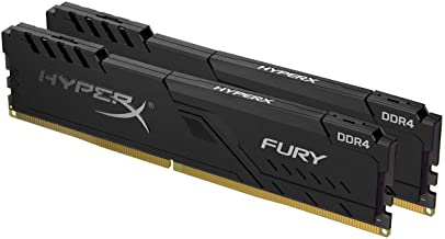 HyperX Fury Black 32GB 2666MHz DDR4 CL16 DIMM (Kit de 2) HX426C16FB4K2/32