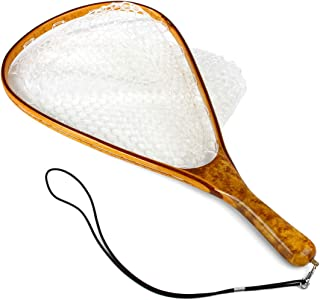 Yamuduo Fly Fishing Landing Trout Net Catch Release Net -...