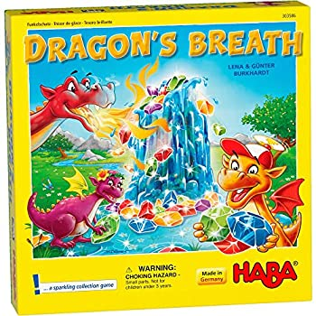HABA Dragon s Breath - 2018 Kinderspiel des Jahres  Children s Game of The Year  Winner - an Exciting Collecting Game for 2-4 Players Ages 5+