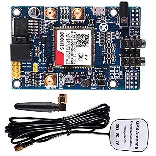 SIM808 Module GSM GPRS GPS Development Board + IPX SMA GSM GPS Antenna Support 2G Network for Arduino Raspberry Pi