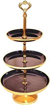 Preisvergleich für Glas Tortenständer Hochzeit Kristall Kuchen Tasse platte 35 CM