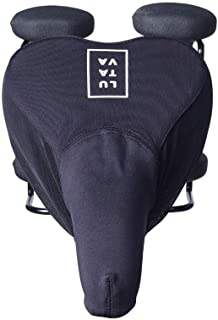 LUTAVA Spin Bike Saddle Cover - Antibacterial - Waterproof Barrier of Protection - Kills 99% of Contaminants - Universal Fit