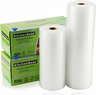 Vacuum Sealer Rolls with Cutter Box 2 Pack 8