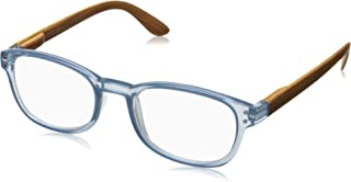 Peepers Unisex-Adult Sticks and Stones 642175 Oval Reading Glasses, Gray