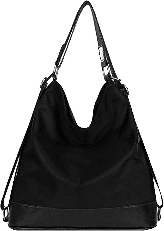 Goodbag Boutique Women Waterproof Nylon Tote Handbag Girl Versatile Satchel Purse Messenger Shoulder Bag