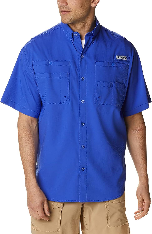 Columbia Men's PFG Tamiami Ii UPF Fishing 40 Shirt 送料無料限定セール中 Sleeve Short 当店は最高な サービスを提供します