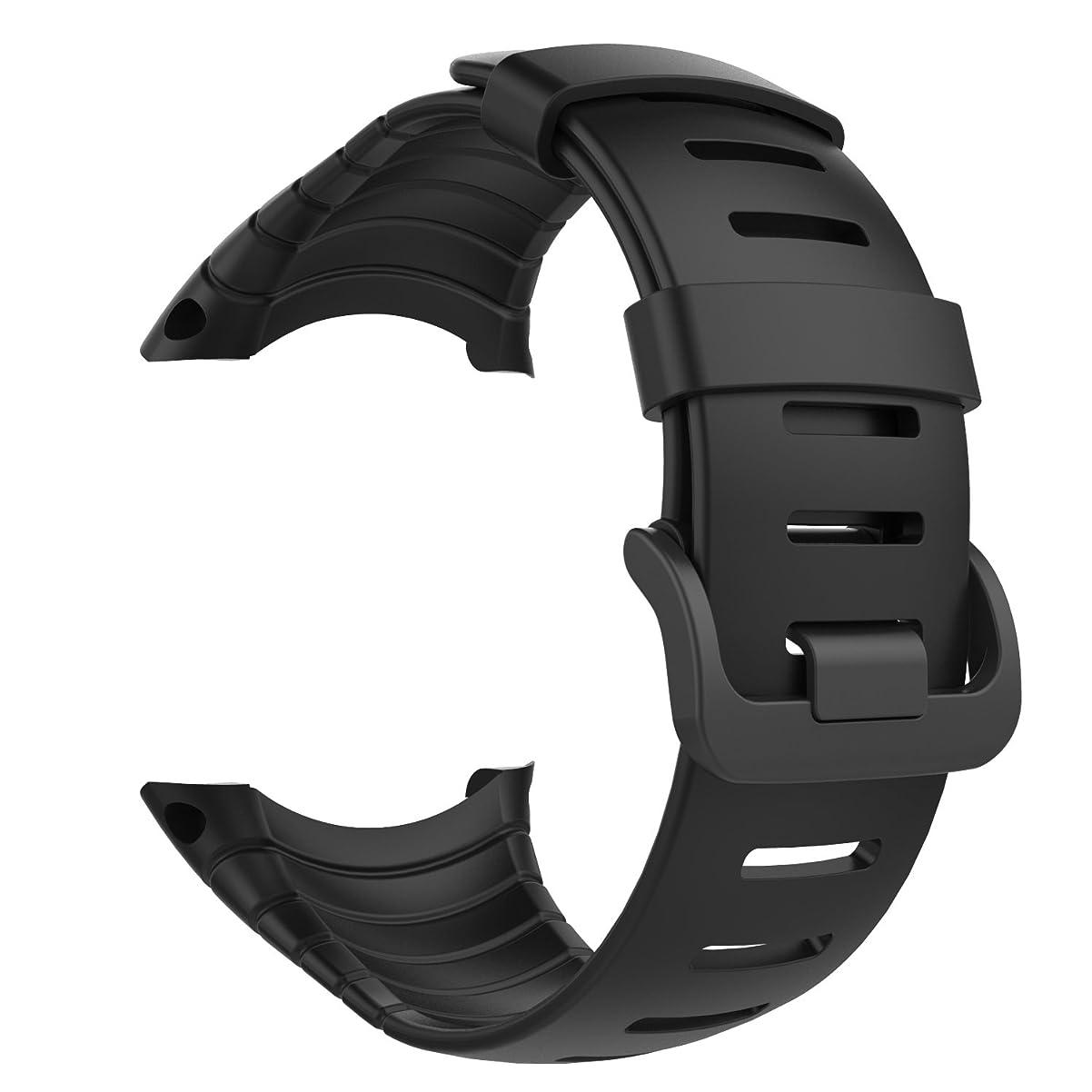 正確に謎あなたが良くなりますSuunto Core バンド - ATiC SUUNTO(スント) Coreコア専用 ソフト 高級 TPU製腕時計ストラップ/バンド 交換ベルト 腕サイズ:5.51