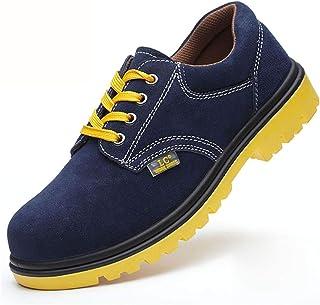 作業靴 電気絶縁滑り止めアイアンファイリングメンズ労働保険靴、皮脂防止、匂い防止、粉砕防止、ピアス防止、古い安全靴 安全靴 (色 : I, サイズ さいず : 36)