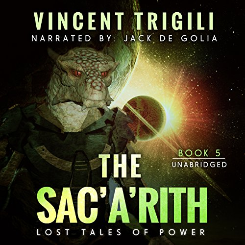 The Sac'a'rith audiobook cover art