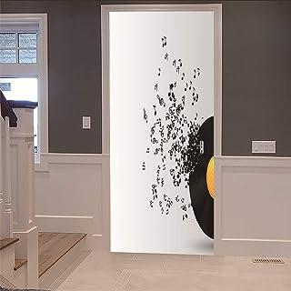 Amazon It Adesivi Per Porte Legno Adesivi Per Porte Sticker Decorativi Casa E Cucina