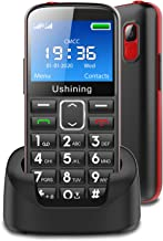 $60 » Ushining Seniors Cell Phones Unlocked SOS Button Hearing Aid Compatible 3G Tmobile Cell Phones for Seniors Large Volume 2....