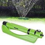 SUSHOP Viereckregner Rasensprinkler Rotierender Bewässerung Sprinkler Automatisches Bewässerung Justierbarer oszillierender Rasensprenger mit 19 langlebige und leistungsstarke Düsen