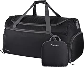 Lightweight Foldable Travel Duffel Bag with Shoes Bag