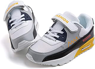Zapato Deportivo Niño Ligeras Zapatillas de Correr Transpirables Niño Niña Caminar Antideslizante Hook and Loop Sneakers C...