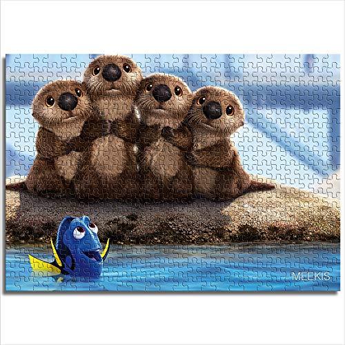 Puzzle 1000 Buscando a Nemo Regalos para Amantes o Amigos 26x38