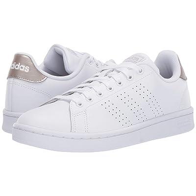 adidas Advantage (White/White/Gray) Women