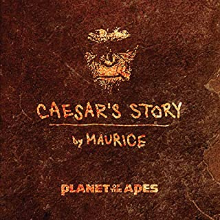 Planet of the Apes: Caesar's Story audiobook cover art
