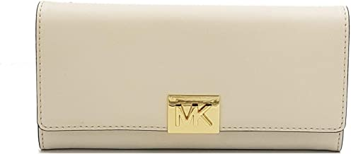 Michael Kors Mindy Carryall Leather Ecru