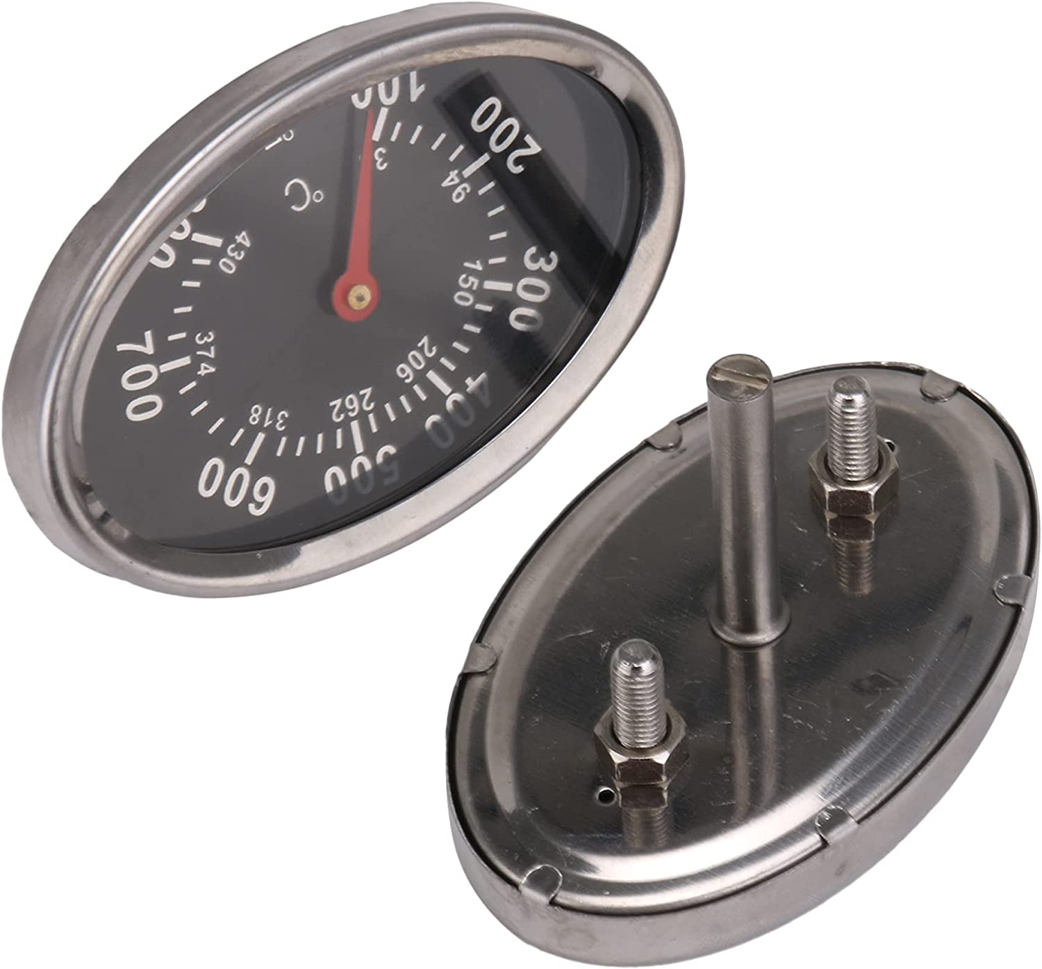 RDEXP Ranking TOP12 2PCS Barbecue Thermometer Virginia Beach Mall 100-800 Replacement for ℉ G