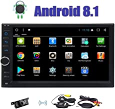 Android 8.1 Car Stereo EINCAR 7 Inch Double Din Car Radio Octa Core 2GB RAM 32GB ROM in Dash Car Radio Video Player with Bluetooth WiFi SWC Mirror Link GPS Navigation System Wireless Backup Camera