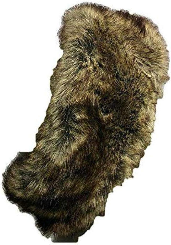 Brown Faux Fur Ear Warmer Headband