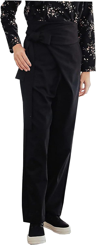 Korean Modern Hanbok Pants Daily Casual Pants Modernized Design Woman Female Pants Black sbp01