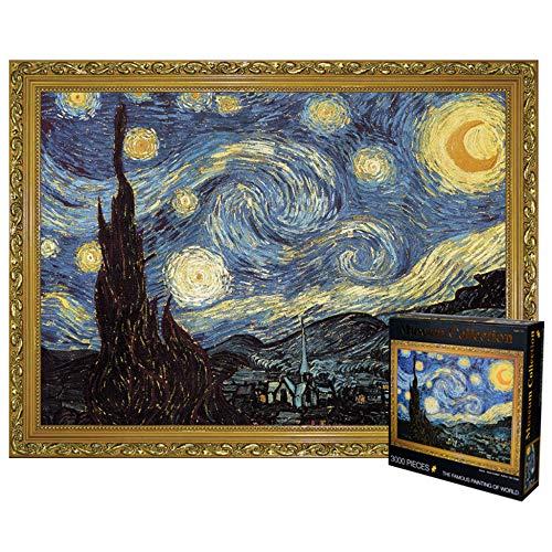 Vincent Van Gogh Erstellte EIN 3000-teiliges Puzzle Für Erwachsene - Sternenhimmel