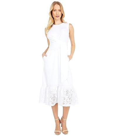Parker Sol Combo Dress (Ivory) Women