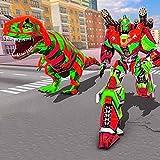 Xtreme Demolition Monster Truck Transform Dino Superhero Robot Simulator: Ultimate Truck Robot Shooting Juegos 3D 2020