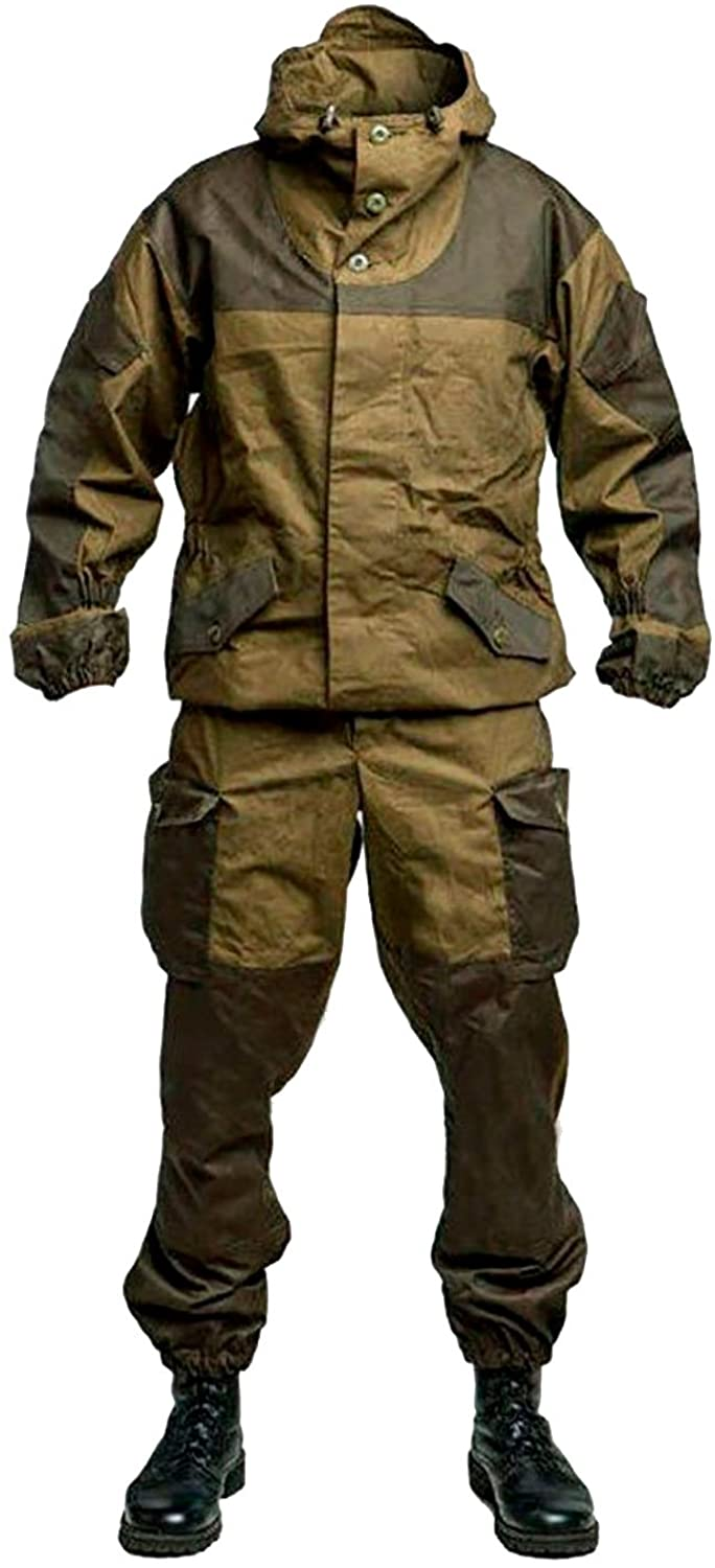 GORKA3 BARS Genuine Russian Army Special Military BDU Uniform Camo Outerwear Hunting & Fishing Suit