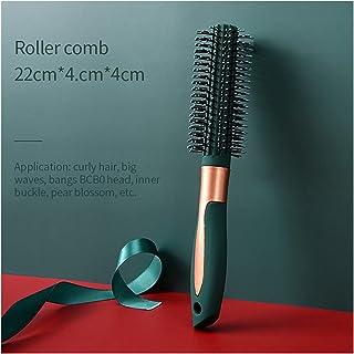 YSJJOSX Frisörkam hårborstar hårkam utjämningsborste luftkudde kam antistatisk huvud massage salong frisör stylingverktyg...