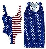 Dreamwave Damen Americana Badeanzug und Matching...