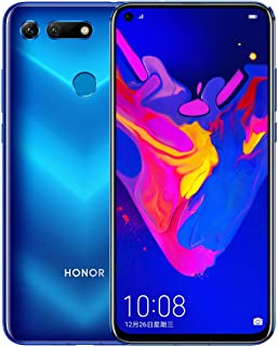 Honor View 20 Dual SIM - 256GB, 8GB RAM, 4G LTE, Phantom Blue