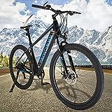 Bicicleta eléctrica Mountain Bike de 27,5 Pulgadas Batería Litio 36V 10Ah Bicicleta Eléctrica Urbana Compañero Fiable para el día a día