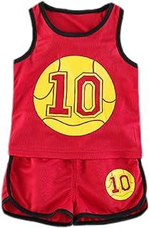 Amazon.es: camiseta baloncesto - Rojo / Niño: Ropa