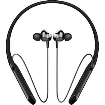 Philips Performance PN402BK Wireless Bluetooth Earbuds with Vibration Call Alert Neckband, Black