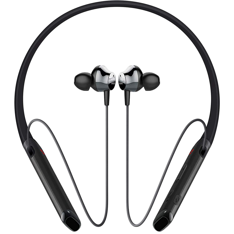 PHILIPS Bluetooth Headphones Waterproof Lightweight