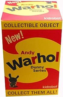 One Blind Box Andy Warhol Designer Vinyl Mini Figure By Kidrobot