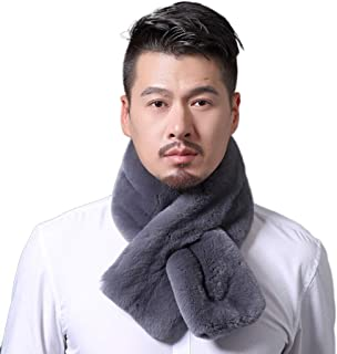 Men Long Sleeve Faux Fur Coat Luxury V-Neck Outerwear Jacket Warm Parka Coat Jacket …