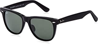 Ray-Ban Square Sunglasses for Men, Green, RB2140F 901 54