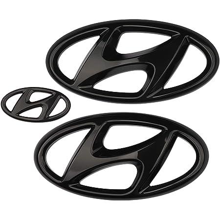 Z Hx Emblem Aufkleber Kühlergrill Kofferraum Lenkrad Auto Styling Sticker Für 2016 2020 Hyundai Elantra Embleme Set Schwarz 2016to2018 Küche Haushalt