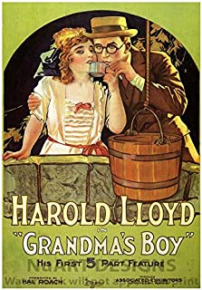 Vintage Movie Advertisement Reproduction Giclee Poster; HAROLD LLOYD in