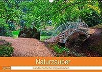 Naturzauber (Wandkalender 2022 DIN A3 quer): Monat, fuer Monat zauberhafte Plaetze in der Natur. (Monatskalender, 14 Seiten )
