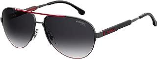 Kính mắt cao cấp nam – Sunglasses Carrera 8030 /S 0SVK Semi Matte Ruthenium Black / 9O dark gray gradie