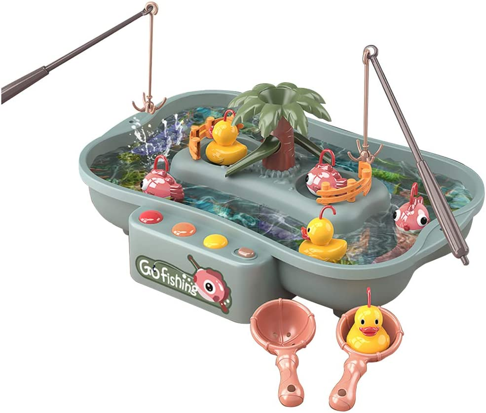 Lovyan Miami Mall Water Circulating Fishing Game Store Board Duck Play with 3 Set