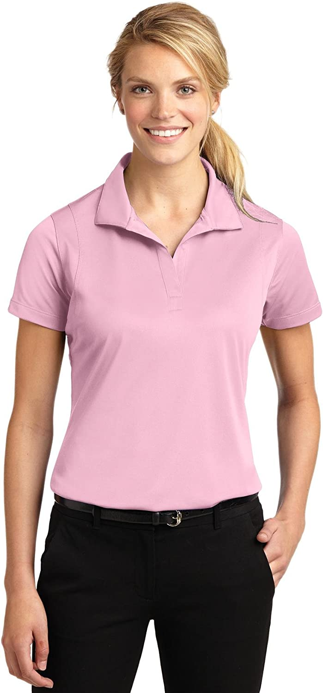 Sport-Tek Ladies Micropique Sport-Wick Sport Shirt, XXL, Light Pink