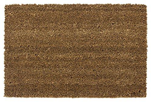 andiamo Schmutzfangmatte Fußabtreter Fußmatte Kokos Matte Natur Rechteck 40x60cm, Größe:40 x 60 cm